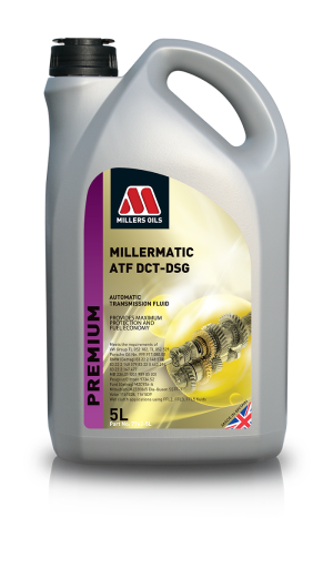 Millers Oils Millermatic ATF DCT-DSG G7742. Premium fully synthetic automatic transmission fluid.