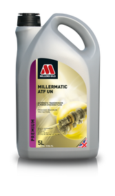 Millers Oils MILLERMATIC ATF UN 5386. Selected high quality solvent refined base stocks with performance additives.