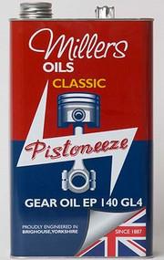 Millers Oils CLASSIC GEAR OIL EP 140 GL4 - 7928 | 5 Liter