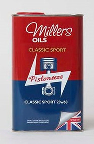 Millers Oils Classic Sport 20w60 - Semi Synthetic