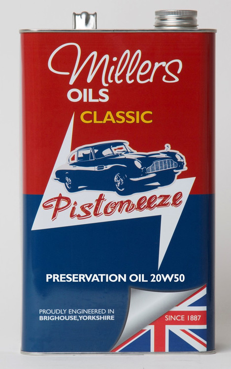 Millers Oils 7931 Classic 20w50 Preservation Oil. 5 Liter