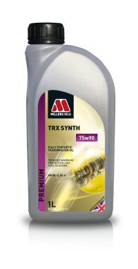 Millers Oils TRX Synth 1219M Aston Martin gear oil - representative picture - Not exact product - sold in 1 liter bottles