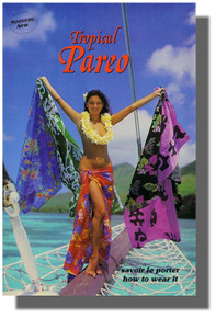 How to Tie/Wrap/Wear a Tropical Sarong/Pareo Guide
