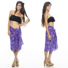 "Dragonfly Sarong ""Purple"""