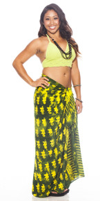 "Elephant Sarong ""Lemon / Lime"""