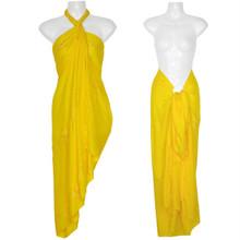 """Embroidered Sarong """"Yellow"""""""