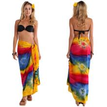 Diamond Rainbow Tie Dye Sarong
