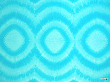 "Tri Dye Sarong ""Turquoise"""