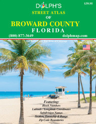 Broward County, FL Street Atlas 2020