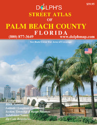 Palm Beach County, FL Street Atlas 2020
