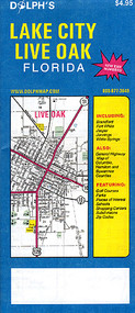 Lake City Map Live Oak Map