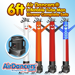 6ft | Air Dancers® Complete Sets