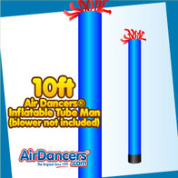 Blue Tube Air Dancers® Inflatable Tube Man 10ft by AirDancers.com