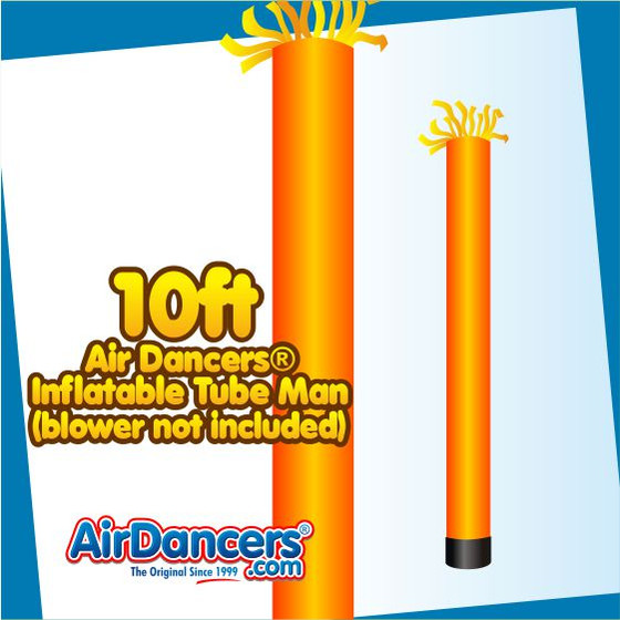 Orange Tube Air Dancers® Inflatable Tube Man 10ft