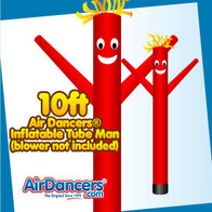Red Air Dancers® Inflatable Tube Man 10ft by AirDancers.com