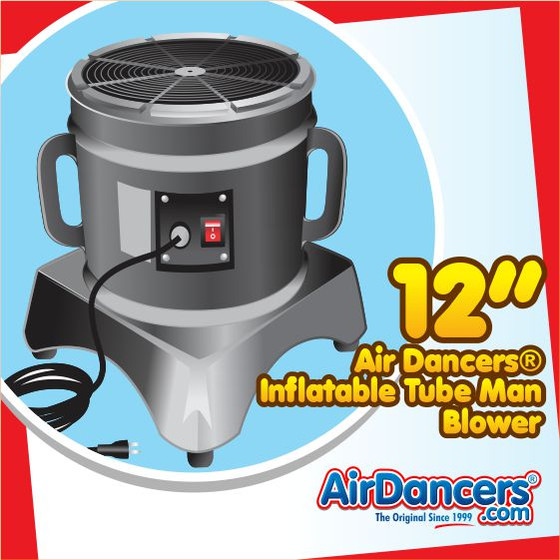 Air Dancers® Inflatable Tube Man Blower - 12inch Diameter