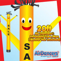 Yellow Sale Air Dancers® Inflatable Tube Man 20ft by AirDancers.com