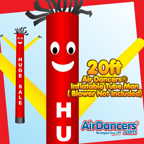 Huge Sale Air Dancers® Inflatable Tube Man 20ft by AirDancers.com