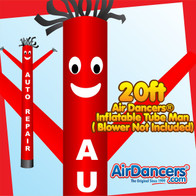 Auto Repair Air Dancers® Inflatable Tube Man 20ft by AirDancers.com