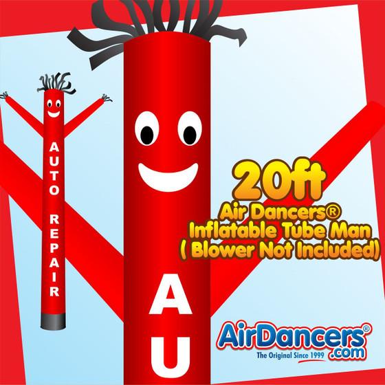 Auto Repair Air Dancers® Inflatable Tube Man 20ft by AirDancers.com