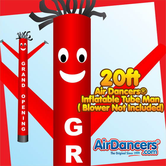 Grand Opening Air Dancers® Inflatable Tube Man 20ft by AirDancers.com