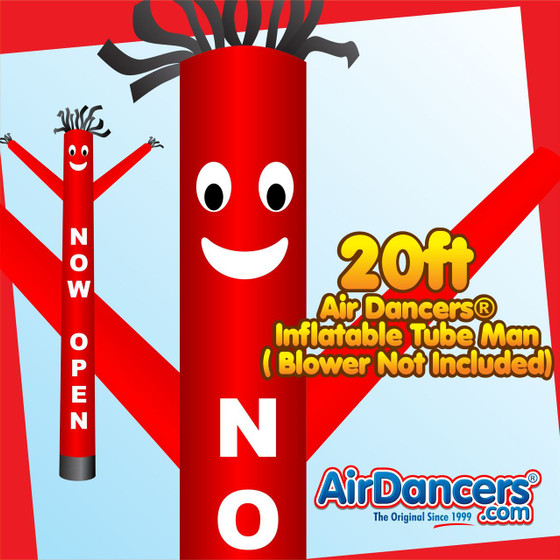 Now Open Air Dancers® Inflatable Tube Man 20ft by AirDancers.com