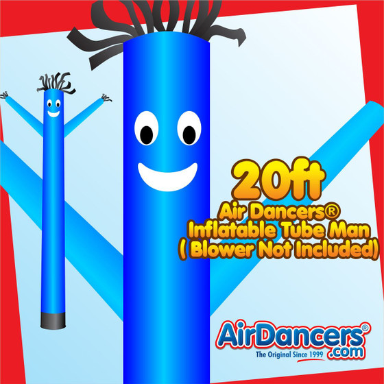 Blue Air Dancers® Inflatable Tube Man 20ft by AirDancers.com