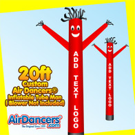 20ft Custom Air Dancers® Inflatable Tube Man Attachment Only
