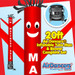 Red Mattress Sale Air Dancers® inflatable tube man & Blower Set 20ft