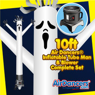 Halloween Ghost Air Dancers® Inflatable Tube Man & Blower 10ft Set