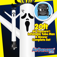 Halloween Ghost Air Dancers® Inflatable Tube Man & Blower Set