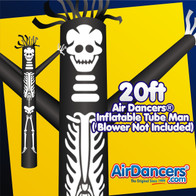 Halloween Skeleton Air Dancers® Inflatable Tube Man 20ft