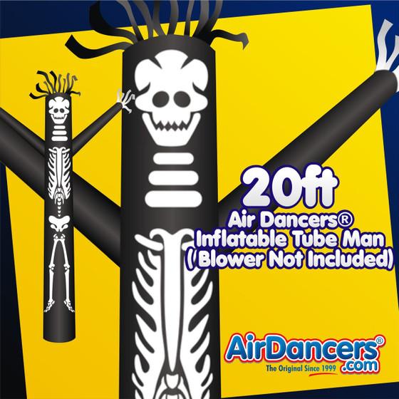 Halloween Skeleton Air Dancers® Inflatable Tube Man 20ft