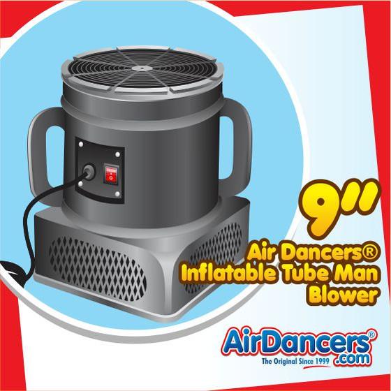 Air Dancers® Inflatable Tube Man Blower - 9inch Diameter