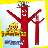 Red Air Dancers® Inflatable Tube Man 6ft