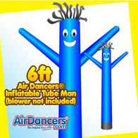 Blue Air Dancers® Inflatable Tube Man 6ft by AirDancers.com