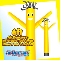 Yellow Air Dancers® Inflatable Tube Man 6ft by AirDancers.com