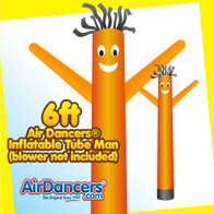 Orange Air Dancers® Inflatable Tube Man 6ft by AirDancers.com