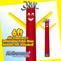 Red & Yellow Air Dancers® Inflatable Tube Man 6ft by AirDancers.com