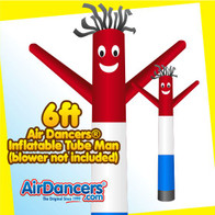 Red White & Blue Air Dancers® Inflatable Tube Man 6ft