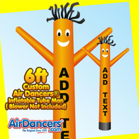 6ft Custom Air Dancers® Inflatable Tube Man