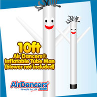 White Air Dancers® Inflatable Tube Man 10ft Attachment