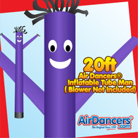 Purple Air Dancers® Inflatable Tube Man 20ft
