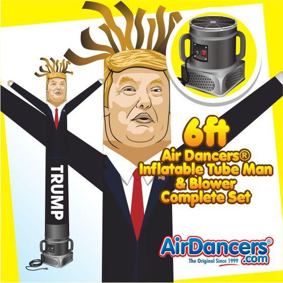Trump Air Dancers® Inflatable Tube Man & Blower 6ft Set