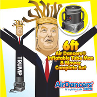 Trump Air Dancers® Inflatable Tube Man & Blower 6ft Set