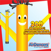 Yellow Air Dancers® Inflatable Tube Man 20ft by AirDancers.com