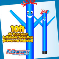 Blue Air Dancers® Inflatable Tube Man 10ft by AirDancers.com