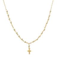 Diamond Petit Pearl Rosary