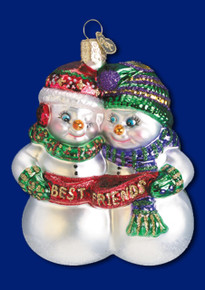 Best Friends Snowman