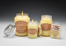 Birthday Cake Scented Candles